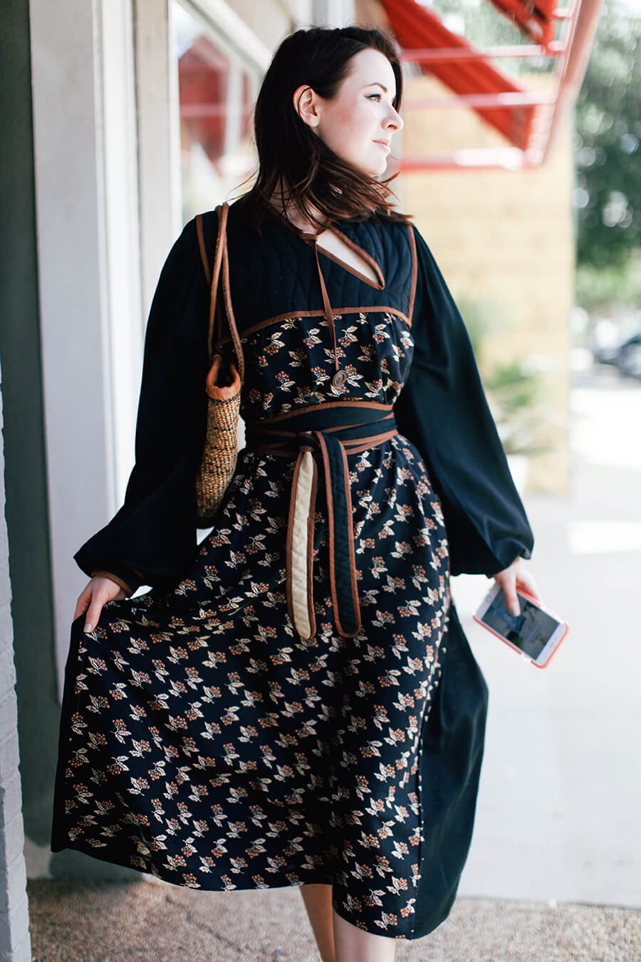 vintage peasant dress @ seaofshoes.com