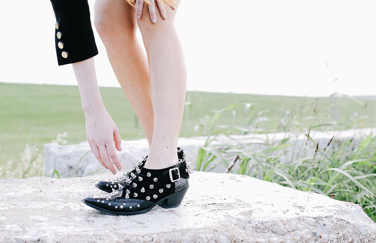 vintage + junya watanabe at sea of shoes