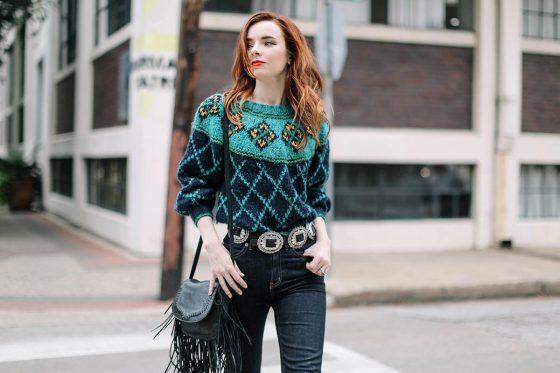 80s Knitwear Trend