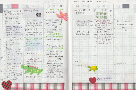How I Use my Hobonichi Planner
